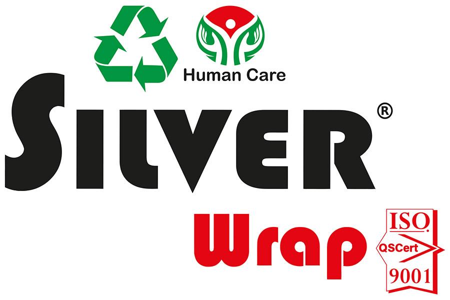 silver wrap logo